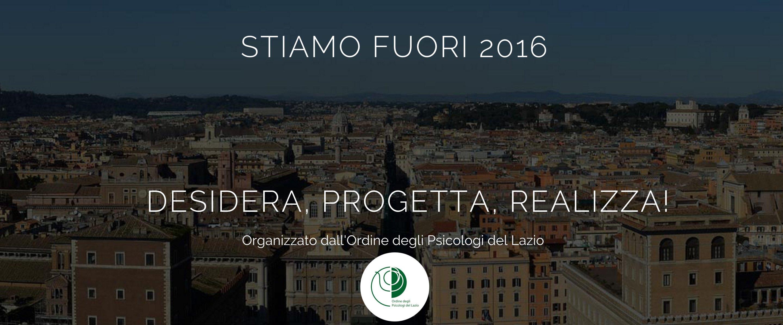 Festival della Psicologia 2016 Roma - Stiamo fuori
